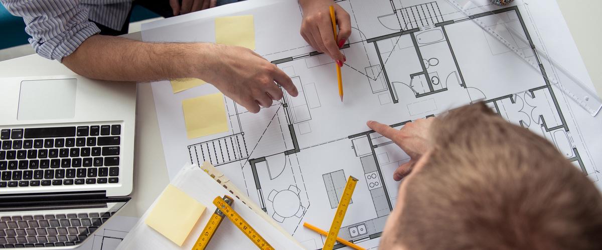 Slideshow architecture plans