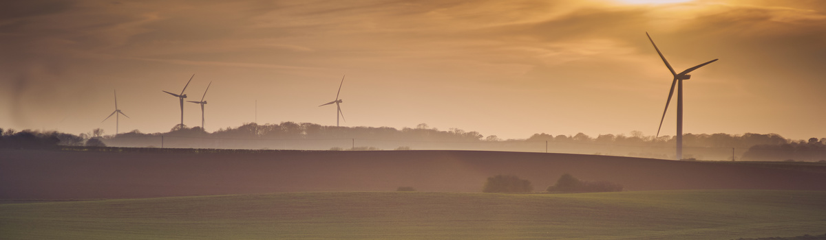Short banner rural uk wind farm
