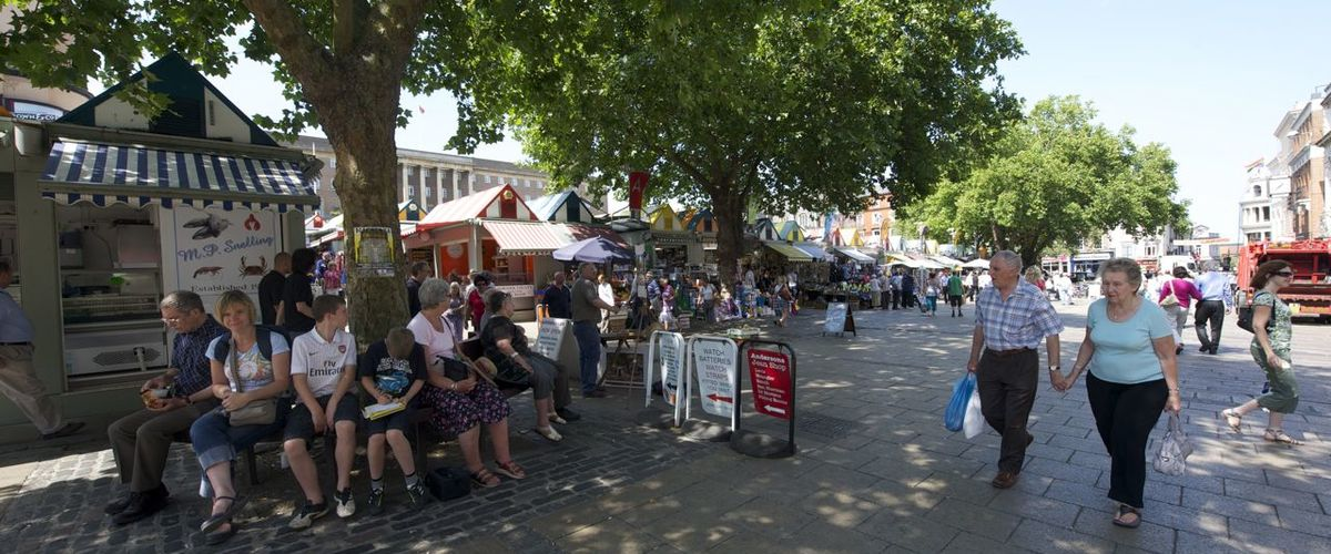 Slideshow london street norwich