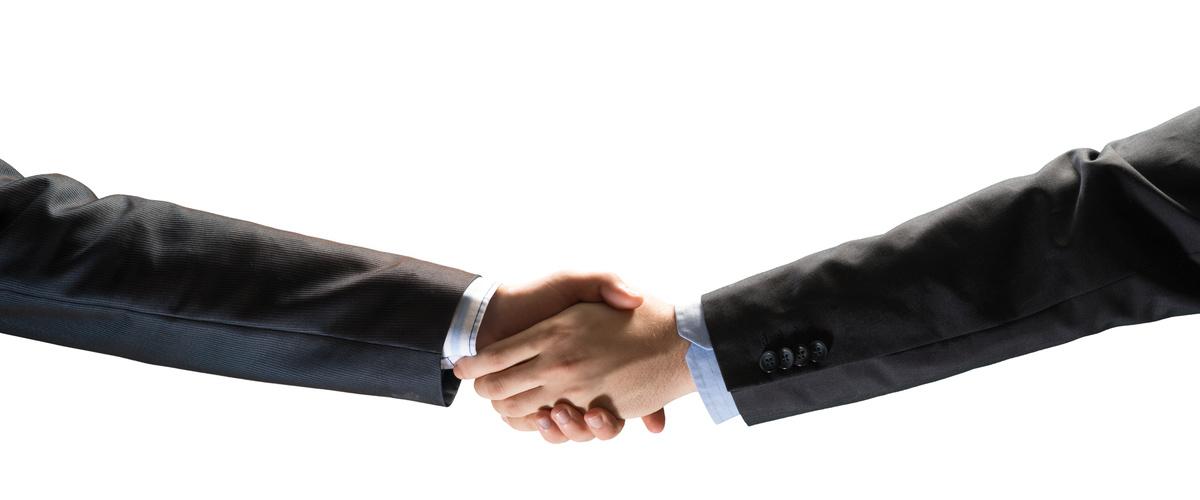 Slideshow handshake