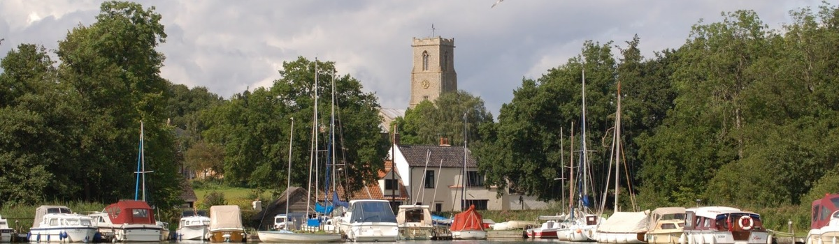 Short banner ranworth marina and church